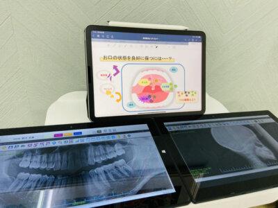 説明用タブレット・iPad